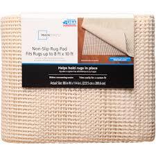 Furniture Grippers Walmart by Mainstays Hold Plus Rug Gripper Pad Walmart Com