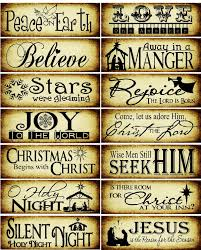 Quotes Christmas Tree 14 Christ Centered Paint Stick Christmas Tree Ornaments Christmas