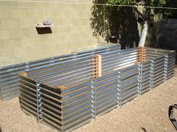 metal raised garden beds the gardens