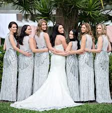 silver wedding dresses for brides silver bridesmaid dress right trend for the wedding weddceremony