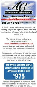 affordable cremation affordable cremation ct home