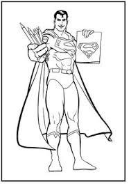 color pages superman superman superman picture coloring
