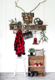from lowly wire hangers to an interchangeable season coat hook