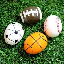sports easter eggs football soccer basketball baseball easter eggs for sports