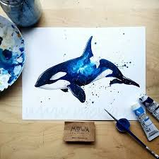 best 25 whale painting ideas on pinterest watercolor