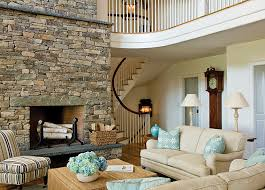 Living Room Design Ideas With Stone Fireplace  Living Room - Living room designs with fireplace