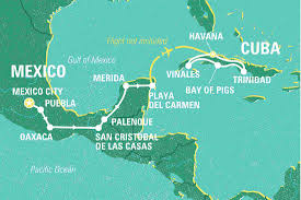 Gulf Of Mexico On Map by A Taste Of Mexico U0026 Cuba Mexico Tours Geckos Adventures Au