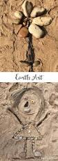 creating earth art a simple open ended nature craft for kids