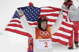 Gold Star Flag Snowboarding Star White Claims Olympic Halfpipe Gold Toronto Star