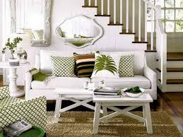 interior design unusual white staircase in modern small living