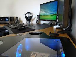 Pc Desk Ideas Outstanding And Creative Desk Designs With Pc Build In 1adt Com