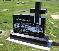 upright headstones custom cross upright grave marker headstone pacific coast memorials