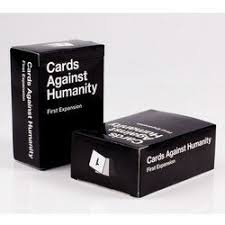 cards against humanity expansion cards against humanity and expansion packs one two three and