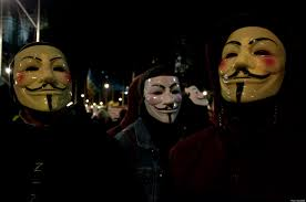 Anonymous Halloween Costume Anonymous Declares War Syrian Government Websites