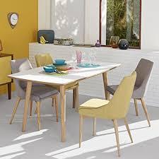 alin a chaises abby chaise en hévéa et frêne gris foncé esprit scandinave gris