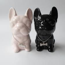 small ceramic bulldog home decor crafts room decoration ceramic