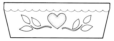 coloring page of flower pot within flower pot coloring page itgod me