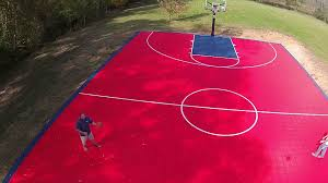 backyard sport court youtube