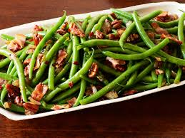 food network pioneer woman thanksgiving green beans and bacon recipe from patrick and gina neely via food