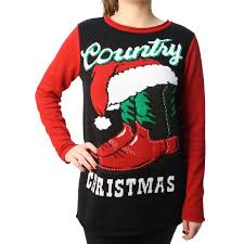 ugly christmas sweater women u0027s country xmas light up pullover
