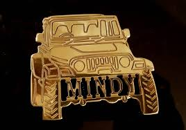 jeep wrangler custom name belt buckle your name personalized