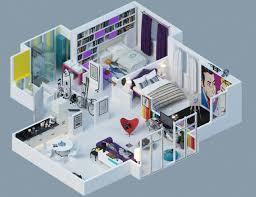 home design 3d ipad 2 etage plan maison 3d d appartement 2 pièces en 60 exemples
