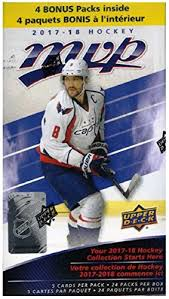 Nails Is Nuts The Daily Upper Decker - 2017 18 upper deck mvp nhl hockey exclusive huge factory sealed