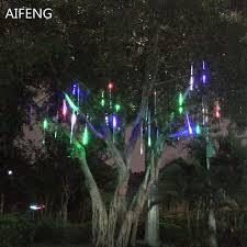 led meteor shower tube lights aifeng 50cm 30cm 20cm led meteor shower rain tube light christmas