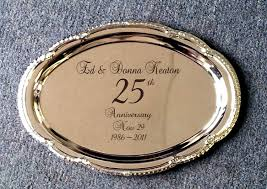 personalized platter personalized silver trays and platters from images inc