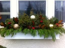 window box ideas for christmas u2013 day dreaming and decor