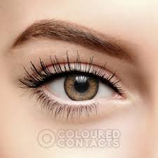 light blue cosplay contacts light brown two tone colored prescription contacts natural rx lens