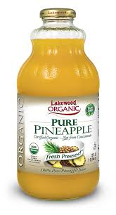 amazon com lakewood organic pure pineapple 32 ounce bottles