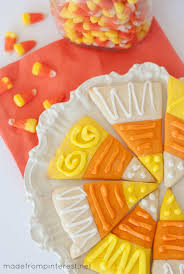 Sugar Cookie Halloween by Candy Corn Sugar Cookies Tgif This Grandma Is Fun