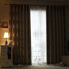 style gray geometric jacquard poly cotton blend insulated curtains