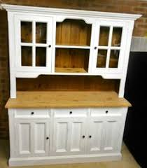 Country Buffet And Hutch Buffet U0026 Hutch Country Style Old White Chalk Paint And Oxidised