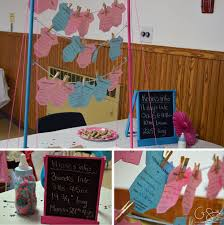 pink and blue baby shower madness u0026 method
