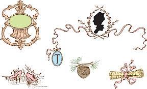 vintage thanksgiving clipart free clipart u2013 vintage victorian love letter decorative frame