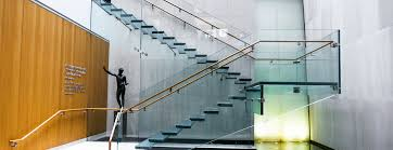 clear views glass floors and stairs give architects design