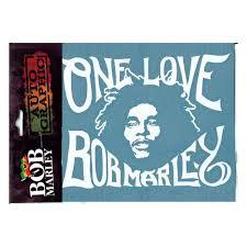 bob marley one love car decal
