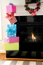 seuss diagonal christmas present stack diy