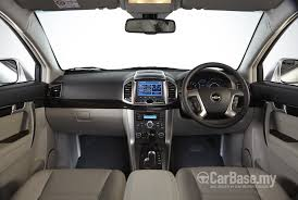 chevrolet captiva interior chevrolet captiva c100 facelift 2011 interior image 9221 in