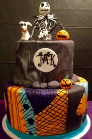 birthday cakes for halloween 45 best creepy nightmare before christmas cakes images on