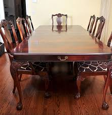bernhardt dining room set ebth