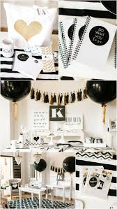 bling home decor black party decorations ideas le for and white dress code red