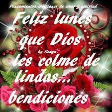 imagenes de feliz inicio de semana con rosas feliz día lunes imágenes de facebook postales bonitas con frases