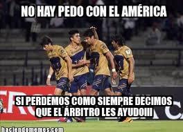 Memes Del America Vs Pumas - no te pierdas los mejores memes del partido américa vs pumas