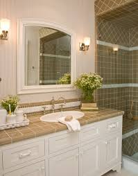 bathroom tile countertop ideas santa barbara colonial style bathroom los