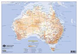 New Zealand And Australia Map Transport In Australia Wikipedia