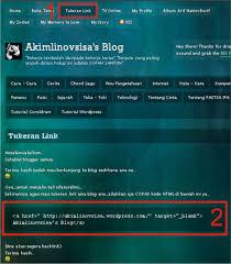 cara membuat album foto di blog wordpress cara membuat kolom tukeran link pada halaman wordpress