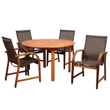 Sling Back Patio Dining Sets - hampton bay statesville 7 piece padded sling patio dining set